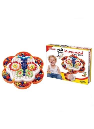 Dede Dede Mozaik Çivi Oyunu Lego Seti In My Mind 260 Parça 01144 / Renkli